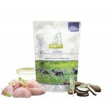 Isegrim Turkey - mokra, monoproteinowa karma dla dorosłych psów, indyk z salsefią i ziołami górskimi, saszetka 410g
