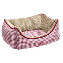 HUNTER Sofa dla psa Astana, kolor czerwony