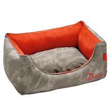 HUNTER Sofa dla psa Belfast, kolor szaro pomarańczowy
