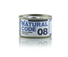 NATURAL CODE 08 puszka 85g kawałki tuńczyka, mokra karma dla kota