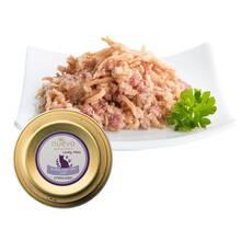 Nuevo adult turkey filet with lamb & linseed oil - karma dla dorosłych sterylizowanych kotów, tacka 85g