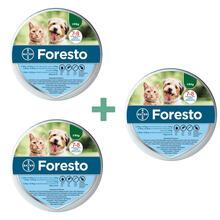 Bayer Foresto Pakiet 3 szt- obroża przeciw pchłom i kleszczom dla kotów i psów do 8kg wagi ciała