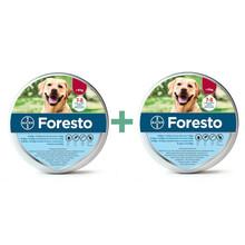 Bayer Foresto Pakiet 2 szt. - obroża przeciw pchłom i kleszczom dla psów powyżej 8kg wagi ciała