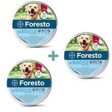 Bayer Foresto Pakiet 3 szt. - obroża przeciw pchłom i kleszczom dla psów powyżej 8kg wagi ciała
