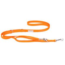 AMIPLAY Smycz regulowana Samba 7in1 dla psa, kolor pomarańczowy