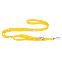 AMIPLAY Smycz regulowana Samba 7in1 dla psa, kolor żółty
