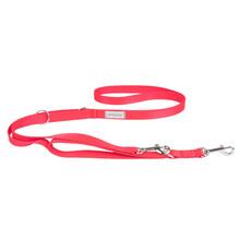 AMIPLAY Smycz regulowana Samba 7in1 dla psa, kolor czerwony
