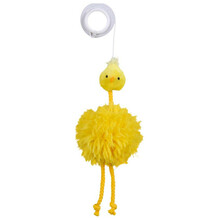 TRIXIE kurczak na gumce 20cm - pluszowa zabawka dla kota