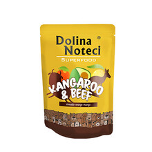 DOLINA NOTECI Superfood Kangur i wołowina - mokra karma dla psa, 300g
