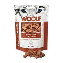 Woolf Beef Chunkies - przysmak dla psa, kawałki wołowiny, 100g