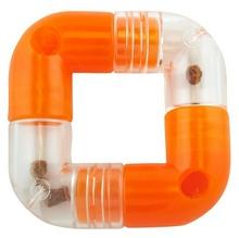 PLANET DOG Link Orange 4 części - pomarańczowa zabawka dla psa