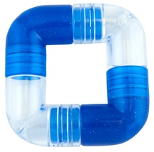 PLANET DOG Link Blue 4 części - niebieska zabawka dla psa