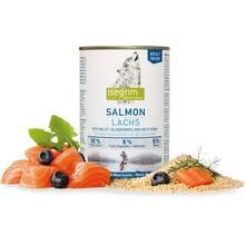 Isegrim Adult Salmon - mokra karma dla dorosłych psów, łosoś z prosem, borówkami i ziołami 400g