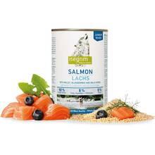 Isegrim Junior Salmon - mokra karma dla szczeniąt, łosoś z prosem, borówką i ziołami, 400g
