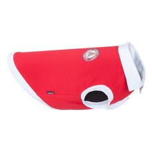 AMIPLAY Koszulka polo Oxford dla psa w kolorze czerwonym