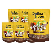 DOLINA NOTECI Superfood Kangur i wołowina 10x300g, pakiet saszetek dla psa