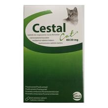 Cestal Cat Flavour - tabletki na odrobaczenie dla kotów, 8 tabletek