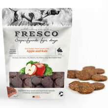 FRESCO SUPERFOOD Rabbit Hamburger - miękkie przysmaki dla psa, 100g