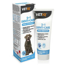 VetIQ 2in1 Denti-Care Toothpaste - enzymatyczna pasta do zębów dla psów i kotów, 70g