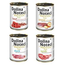 DOLINA NOTECI Pure MIX 4x400g PAKIET - mokra karma dla psów dorosłych