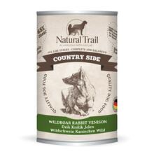 Natural Trail Country Side - Mokra karma dla psa z dzikiem, królikiem i jeleniem, 400g