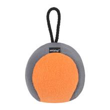 AMIPLAY Piłka dla psa z piszczałką w pomarańczowo szarym kolorze