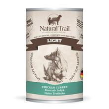 Natural Trail Light - Dietetyczna mokra karma dla psa z indykiem i kurczakiem, 400g