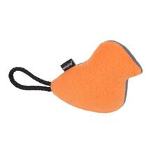 AMIPLAY Pluszowa zabawka dla psa w pomarańczowo szarym kolorze