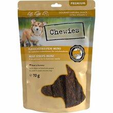 Chewies Mini - przysmak dla psów, paski mięsne 100% wołowiny, 70g