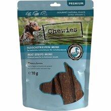 Chewies Mini - przysmak dla psów, paski mięsne 100% kaczki, 70g