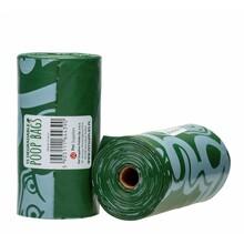 PET SUPPLIES EKO - Biodegradowalne woreczki na psie odchody, 1 rolka - 15szt