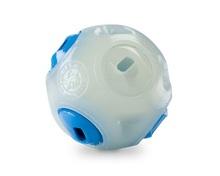 PLANET DOG Whistle Ball Glow/Blue piłka dla psa