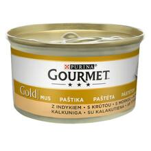 Purina Gourmet Gold Mus z indykiem - karma dla kota, puszka 85g