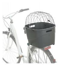 Trixie Kosz na bagażnik rowerowy do przewozu psa lub kota do 6g wagi, kolor szary