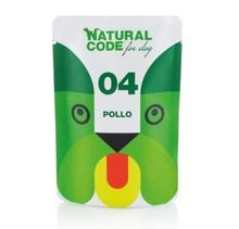 Natural Code 04 Kurczak - Mokra karma dla psa, saszetka 100g