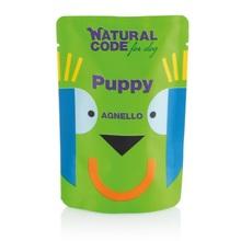 Natural Code Puppy Jagnięcina - Mokra karma dla psa, saszetka 100g