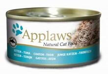 APPLAWS Kitten filet z tuńczyka , mokra karma, puszka 70g