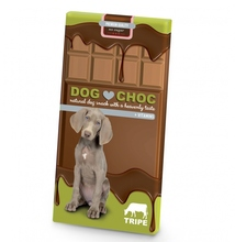 DUVO+ Dog Choc Tripe - Czekolada dla psa ze żwaczami, 100g