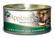 APPLAWS tuńczyk i wodorosty, mokra karma dla kota, puszka 70g