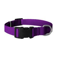 CHABA Obroża regulowana dla psa w kolorze fioletowym