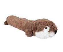 FLAMINGO Pluszowy wydra 36cm, zabawka dla psa