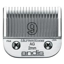 ANDIS UltraEdge 9 - 2mm - ostrze wymienne do maszynek typu snap-on