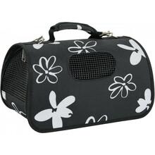 ZOLUX Flower - torba do transportu zwierząt składana na płasko, kolor czarny