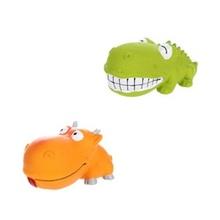 FLAMINGO Krokodyl/Hipcio zabawka lateksowa dla psa 17cm