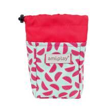 Amiplay - torebka na przysmaki dla psa, kolekcja BeHappy, wzór Watermelon