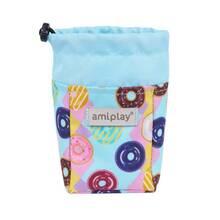 Amiplay - torebka na przysmaki dla psa, kolekcja BeHappy, wzór Donut