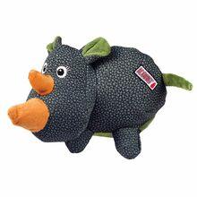 KONG Phatz Rhino - Pluszak z piszczałką 15 cm