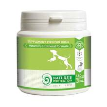 Nature's Protection Vitamins and Minerals Formula - witaminy i minerały dla psów, 150g (75 tabletek)