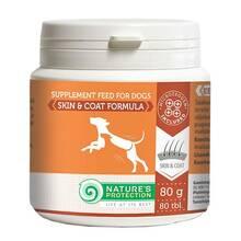 Nature's Protection Skin & Coat Formula - suplement dla psów na zdrową skórę i sierść, 80g (80 tabletek)