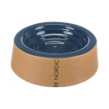 TRIXIE Miska ceramiczna BE NORDIC dla psa, ciemnoniebiesko beżowa